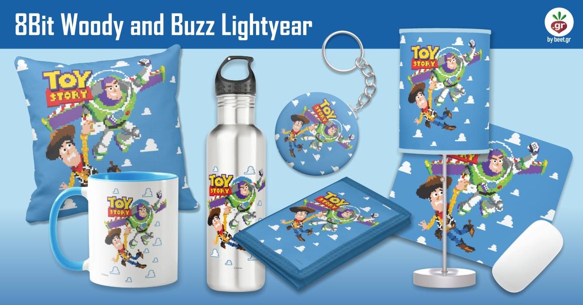 8Bit Woody and Buzz Lightyear