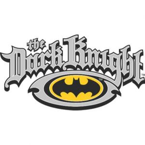 Batman Dark Knight | Name and Oval Logo