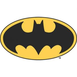 Batman Symbol | Oval Logo