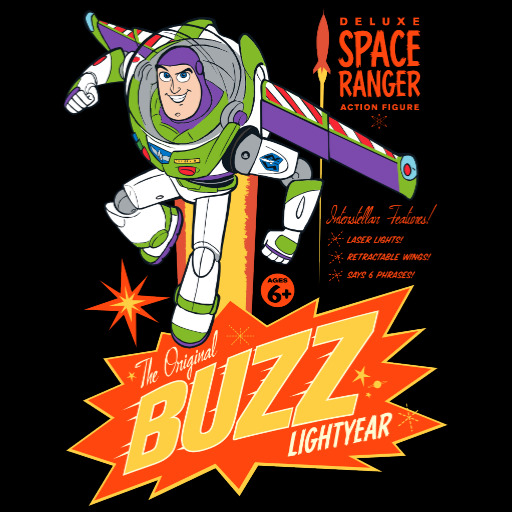 Buzz Lightyear Action Figure Ad