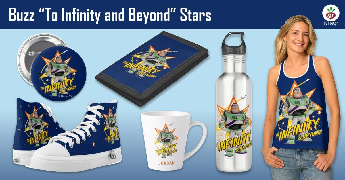"""Buzz """"To Infinity and Beyond"""" Stars"""