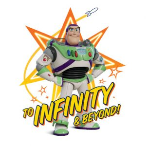 "Buzz ""To Infinity and Beyond"" Stars"