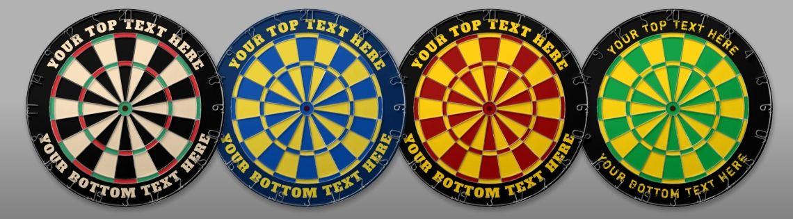 High Contrast Dartboard Collection