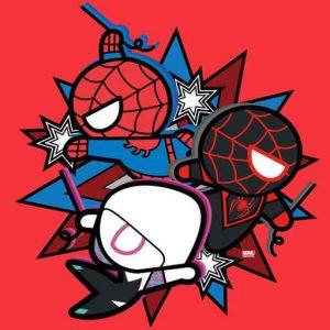 Kawaii Spider-Man, Ghost-Spider, & Miles Morales