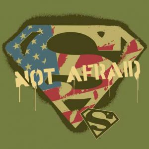 Superman S-Shield | Not Afraid Logo