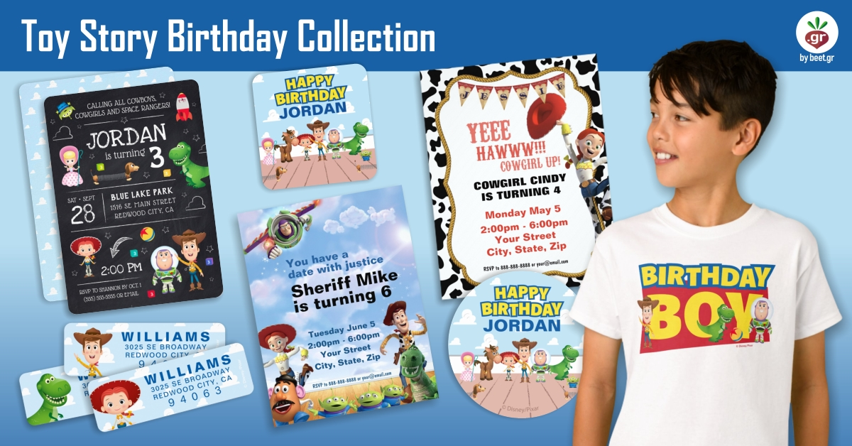 Toy Story Birthday Collection