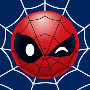Winking Spiderman Emoji
