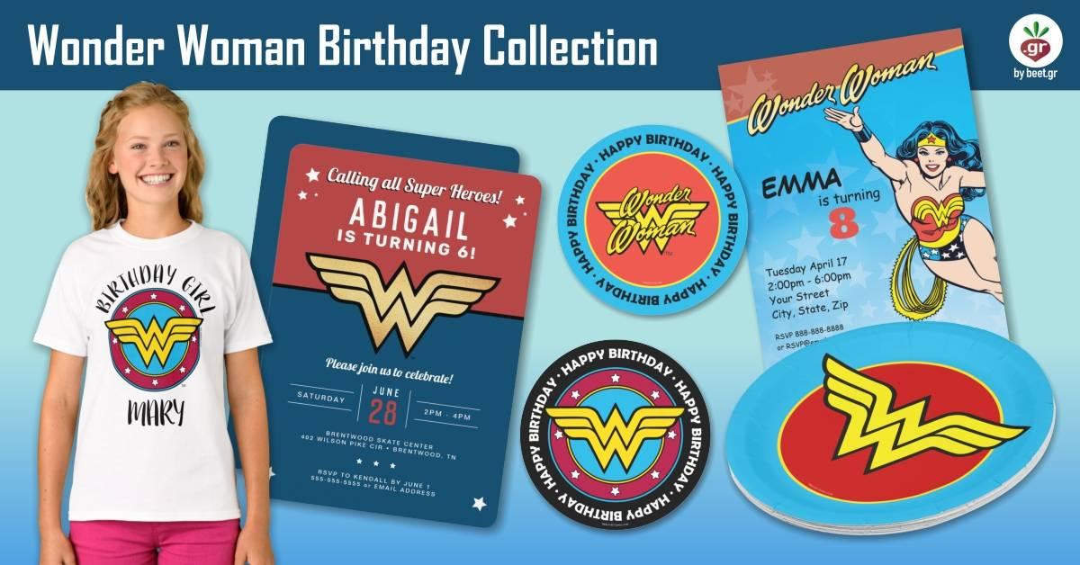 Wonder Woman Birthday