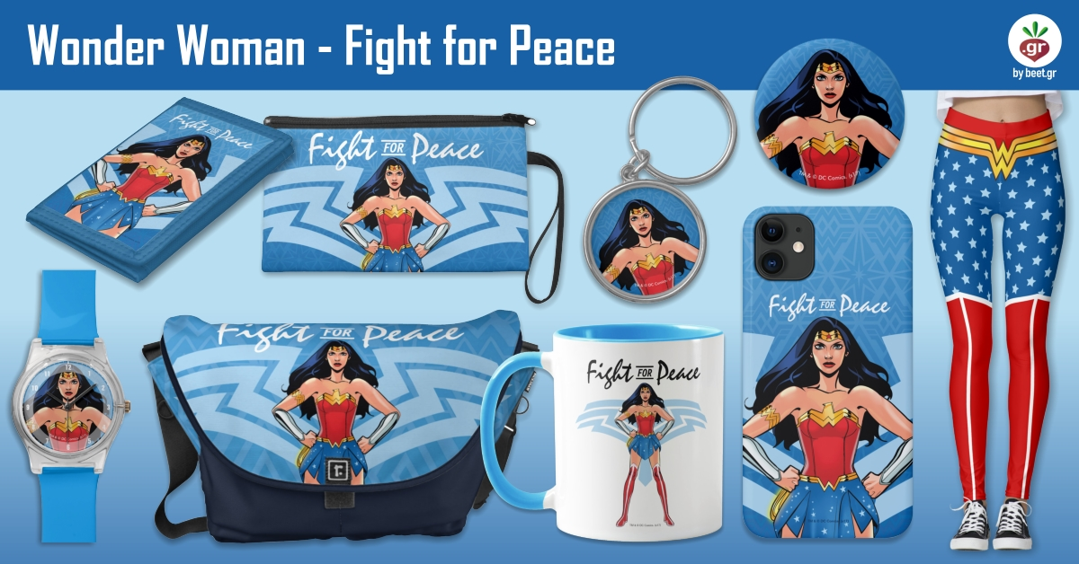 Wonder Woman - Fight For Peace