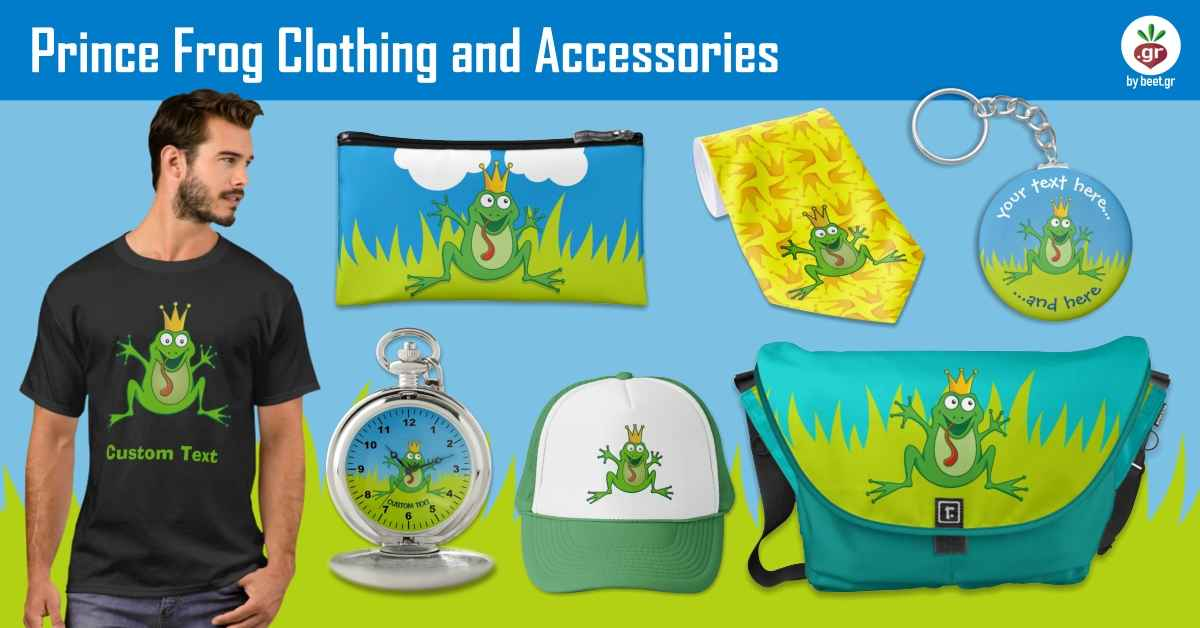 Prince Frog Clothing and Accessories