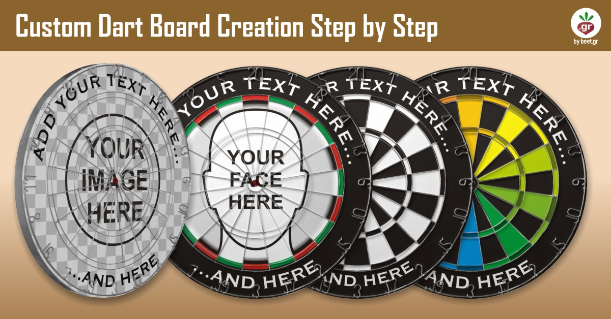 Create your Custom Dart Board
