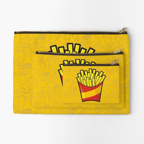 French Fries Zipper Pouch