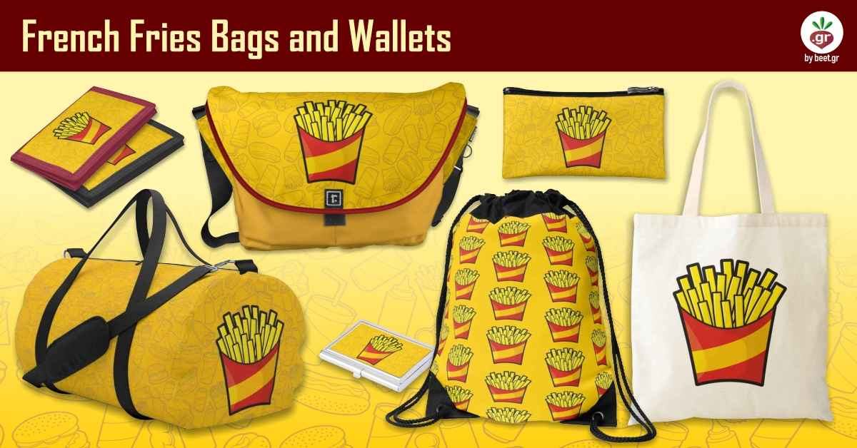 French Fries Bags and Wallets