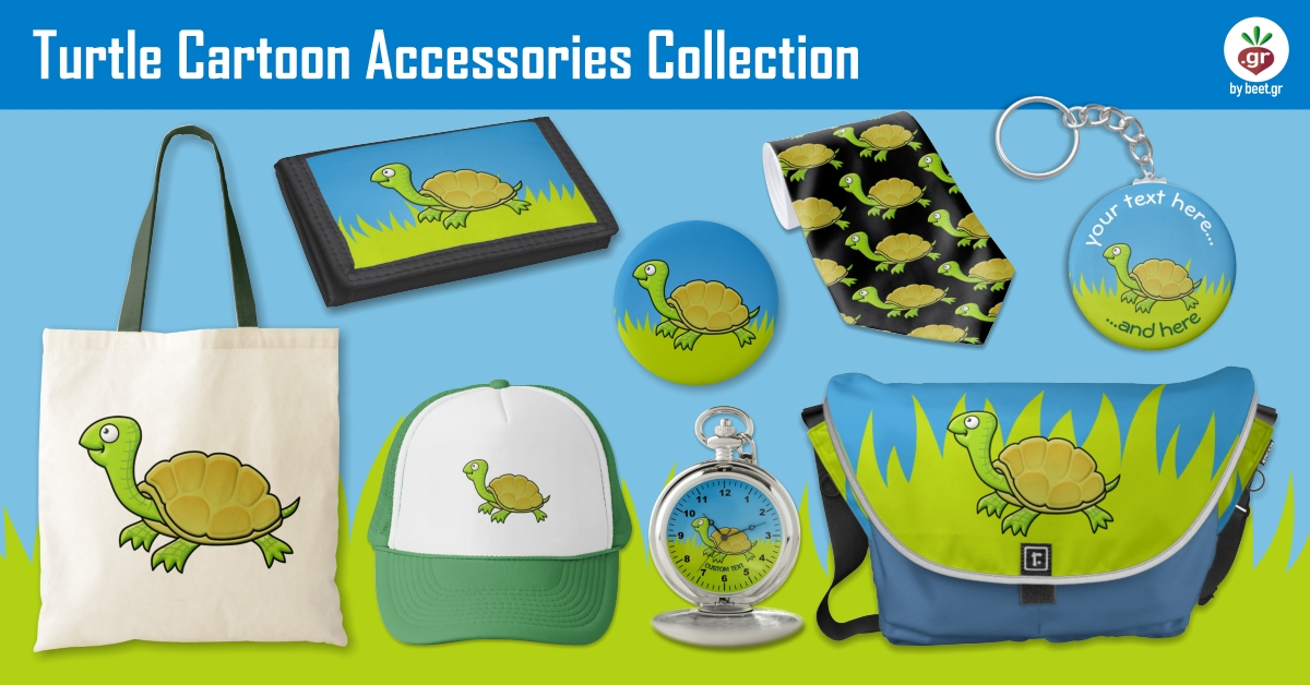 Turtle Cartoon Accessories