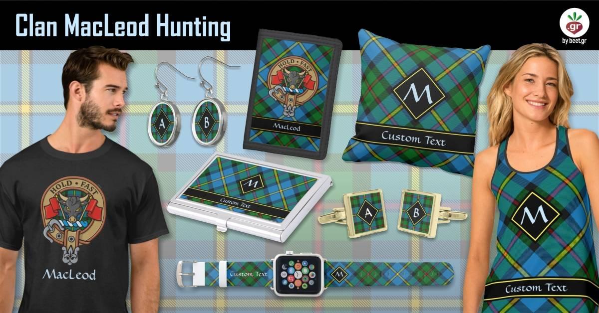 Clan MacLeod Hunting Tartan