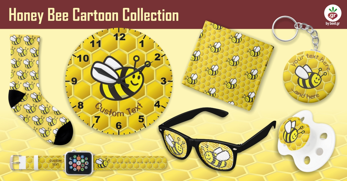 Honeybee Cartoon Collection