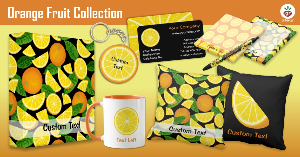 Orange Fruits Collection