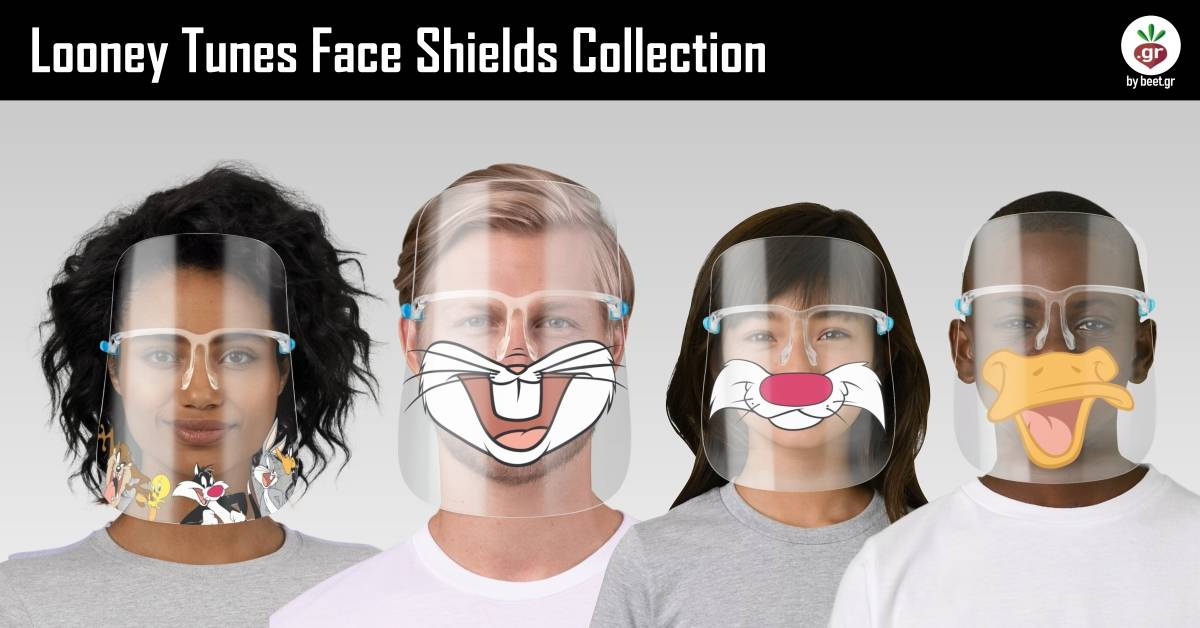 Looney Tunes Face Shields