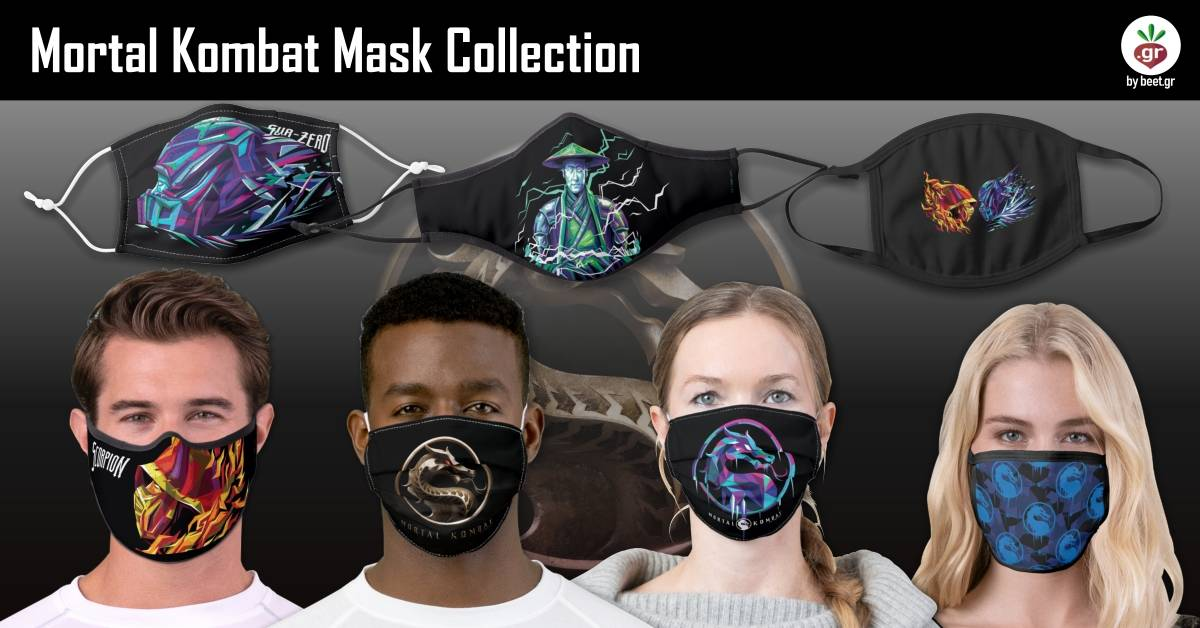 Mortal Kombat Face Masks