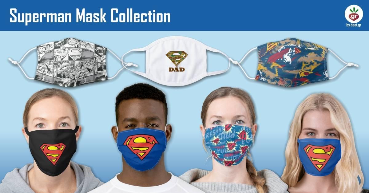 Superman Face Masks