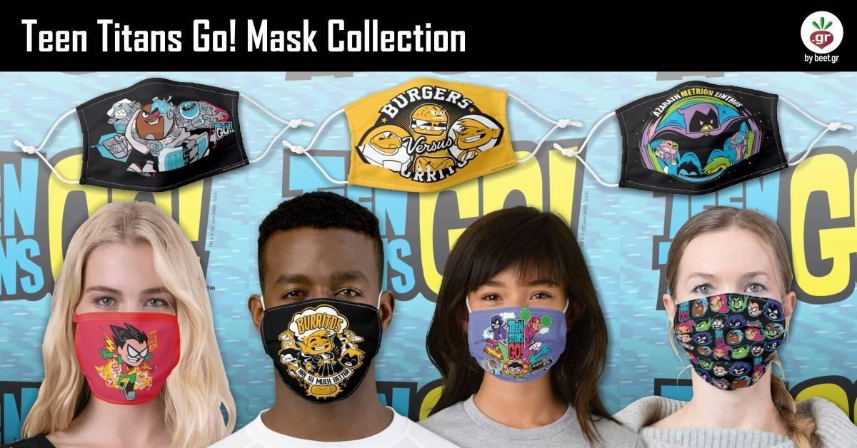 Teen Titans Go! Face Masks
