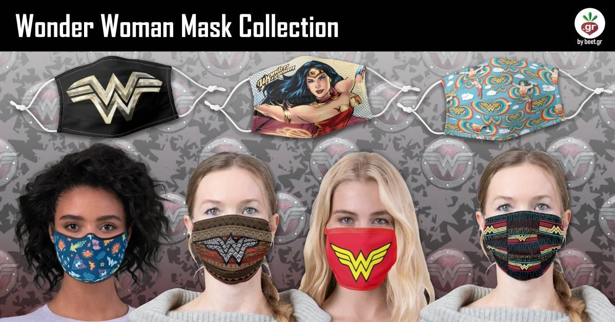 Wonder Woman Face Masks