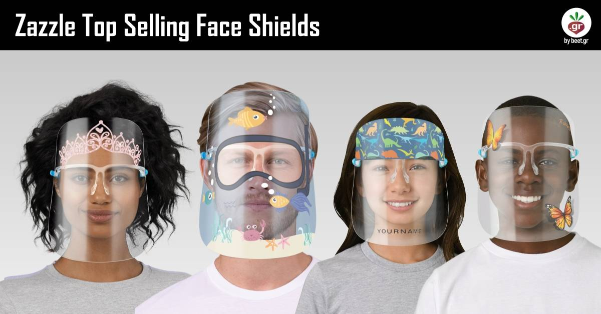 Zazzle Top Selling Face Shields
